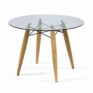 Tisch Rund 100 Cm : tisch rund glas tischplatte esstisch rund glas tisch ~ Whattoseeinmadrid.com Haus und Dekorationen