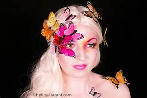 Julia Graf: Butterfly Fairy Makeup