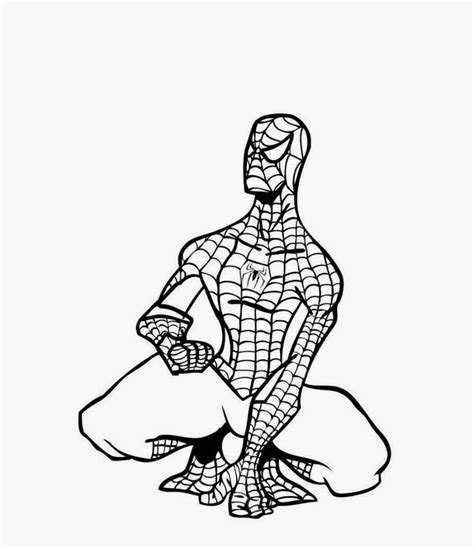 malvorlagen spiderman