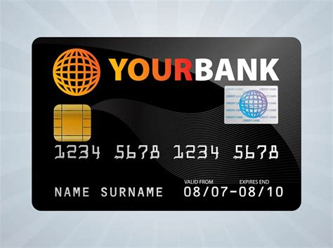 When handled responsibly, your first credit card can help you build credit and improve your ability to borrow money in the future. Credit Card Design Vector Art & Graphics | freevector.com