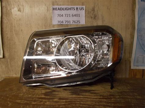 Buy 2009 2010 2011 Honda Pilot Lh Driver Side Headlight