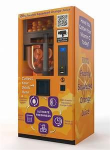 Machine A Orange Pressée : max fresh orange juice vending machine ~ Melissatoandfro.com Idées de Décoration