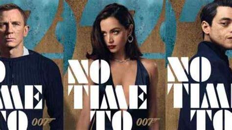 NO TIME TO DIE: Daniel Craig's James Bond Accelerates Into ...