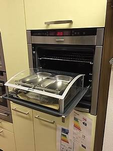 Backofen megashw4674 b46w74n0 neff backofen mit slide for Neff herd