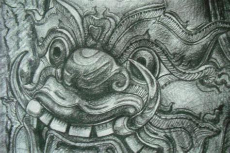 My.iD Gallery : รูป รูปวาดลายเส้น หัวโขนยักษ์ อ่ะค่า