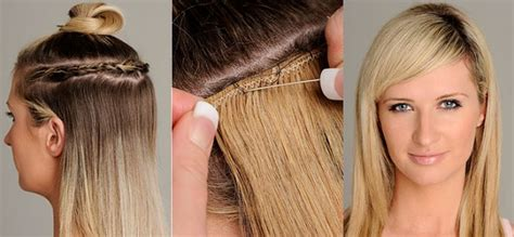How to Perform DIY Sewn in Hair Extensions