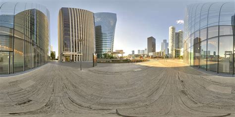 hdr panorama  highrise offices  hdri light probe