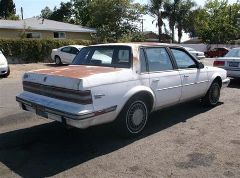1986 Buick Century by Sell Used 1986 Buick Century No Reserve In Orange