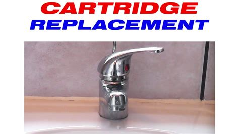 how to repair leaking kitchen faucet how to replace the cartridge in a mixer tap
