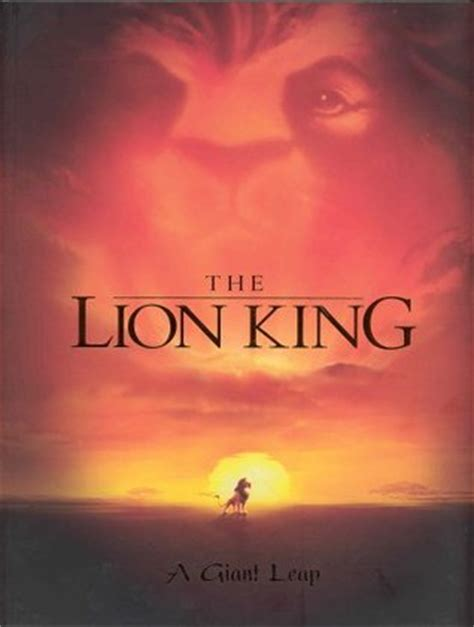 lion king  giant leap  christopher finch