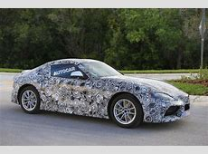 2017 Toyota Supra spotted with production bodywork Autocar