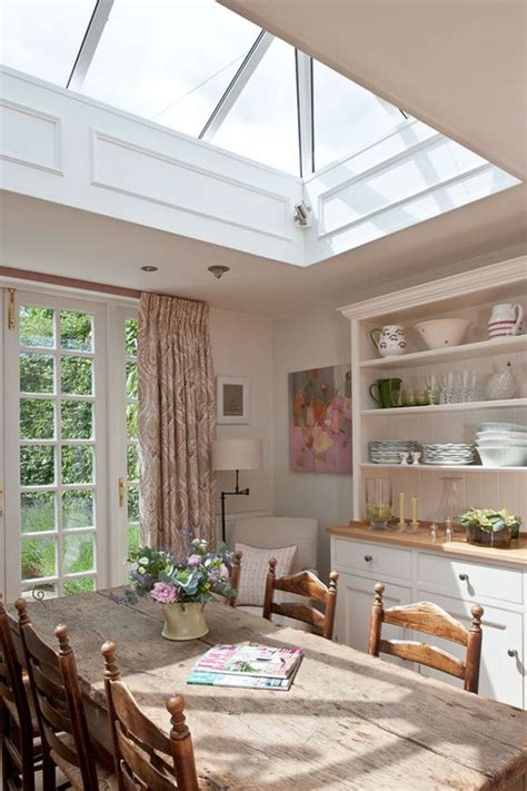 beautiful dining areas  skylights shelterness