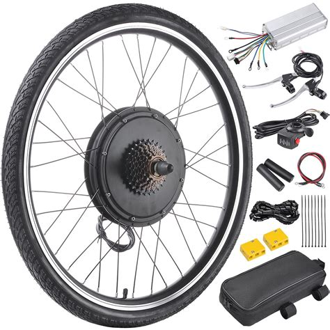 "48v1000w 26"" Frontrear Wheel Electric Bicycle Motor Kit E"