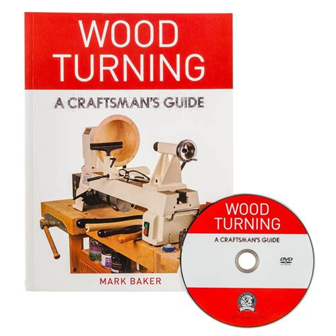 wood turning  craftsmans guide book  dvd