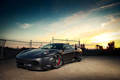Car Sunset Wallpaper by Sports Car Auto Sunset Nature Wallpaper Cars
