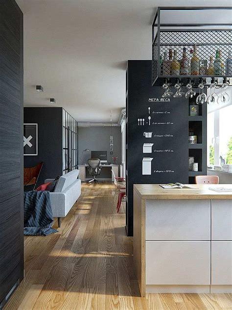 cuisine design surface cuisine pour studio comment l 39 aménager