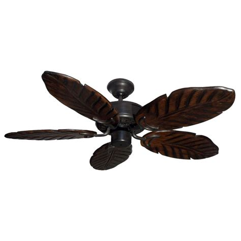 outdoor ceiling fan blades 42 quot outdoor tropical ceiling fan oil rubbed bronze finish