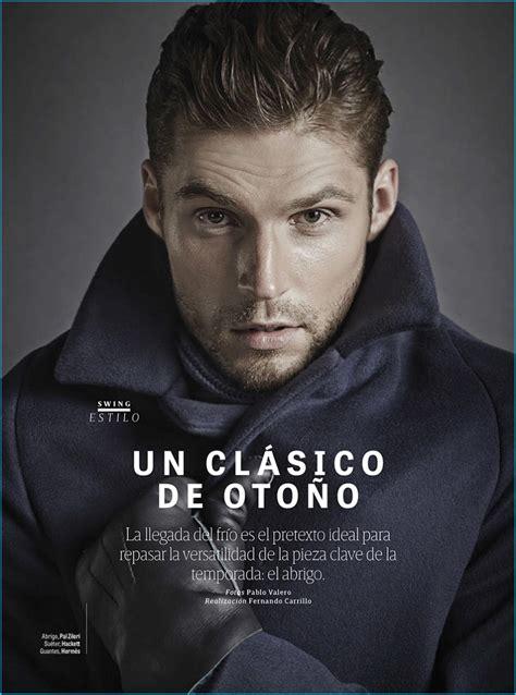 Mikus Lasmanis Models Fall Coats for GQ México | The ...