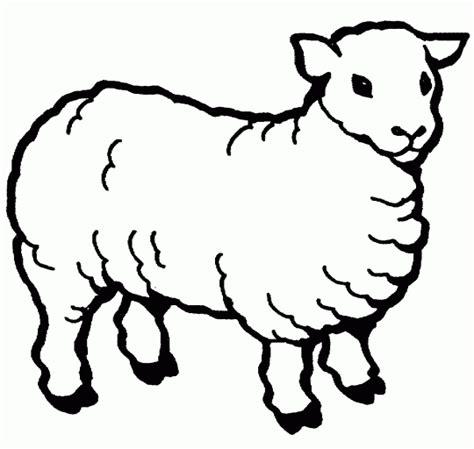 sheep free printable coloring pages 183   sheep