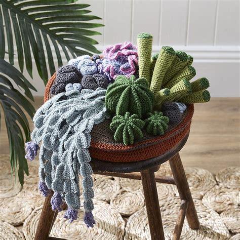 spunky crochet cactus patterns