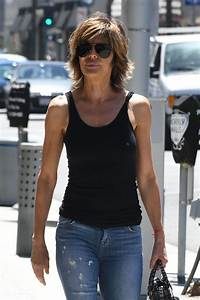 LISA RINNA Leaves a Nail Salon in Beverly Hills 06/27/2017 ...