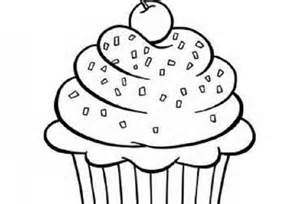 HD wallpapers coloring page for cupcakes