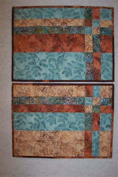 quilted placemats patterns best 25 placemat patterns ideas on placemat