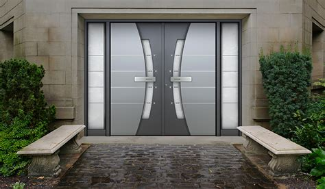 Contemporary Entrance And Front Doors