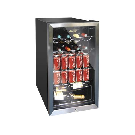 under cabinet wine fridge husky hm39 el undercounter wine cooler