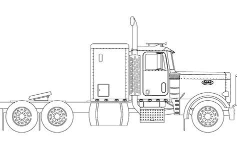 wheeler truck dxf file   axisco
