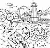 Hersheypark sketch template