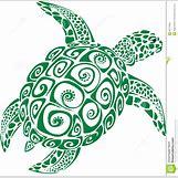 Hawaiian Sea Turtle Clipart   1329 x 1300 jpeg 246kB