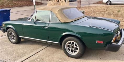1978 Fiat Spider For Sale by 1978 Fiat Spider 124 For Sale Fiat 124 Spider 124 1978