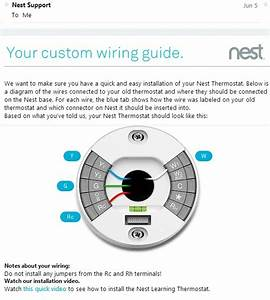 Nest Your Custom Wiring Diagram Guide Customer Service