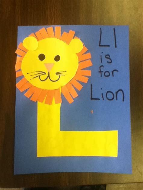 letter l activities for preschoolers best photos of letter l crafts letter l preschool craft 813