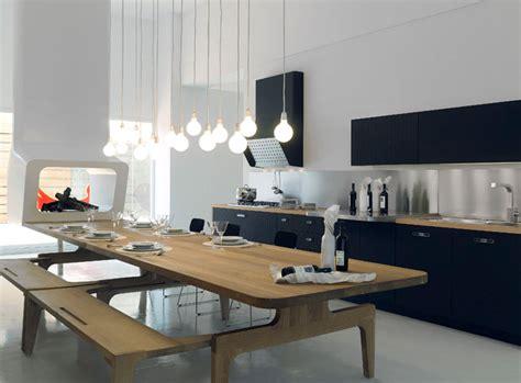 grande table de cuisine mesa de schiffini inspiration cuisine le magazine de la cuisine équipée