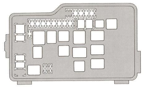 Fuse Box For 300 by Lexus Gs300 1993 1995 Fuse Box Diagram Auto Genius
