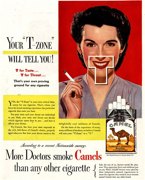 More Doctors Smoke Camels Than Any Cigarette