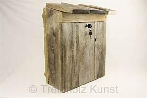 Briefkasten Aus Holz : briefkasten aus holz und verzinktem metall ~ Udekor.club Haus und Dekorationen