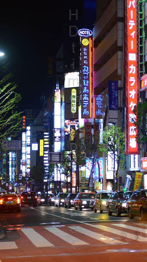 tokyo street iphone wallpapers top  tokyo street