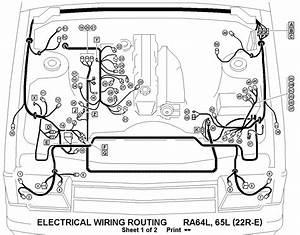 1986 Toyota Pickup Wiring Diagram