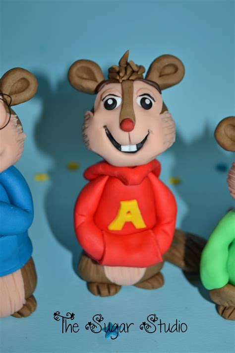 Alvin And The Chipmunks Cake Toppers by Alvin The Chipmunks Cake Topper Flickr Photo