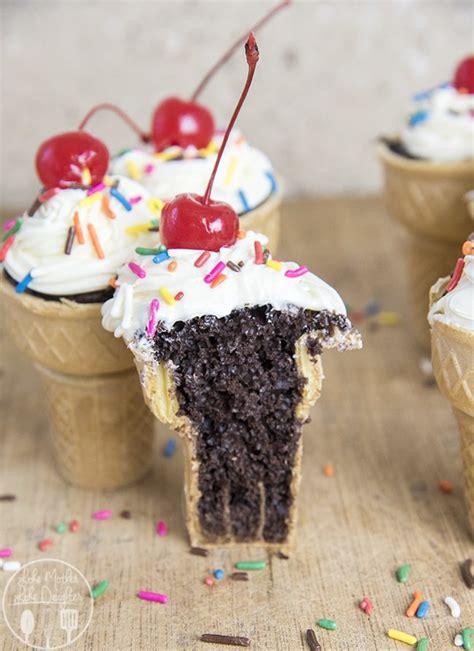 ice cream cone cupcakes soggy