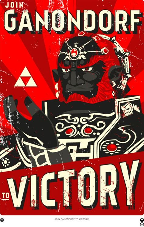 Legend Of Zelda Propaganda Posters Randommization