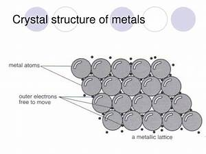 PPT - Physical properties of metals and their uses ...