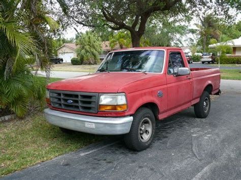 Sell Used 1993 Ford F-150 Xl (short Bed) In Pompano Beach