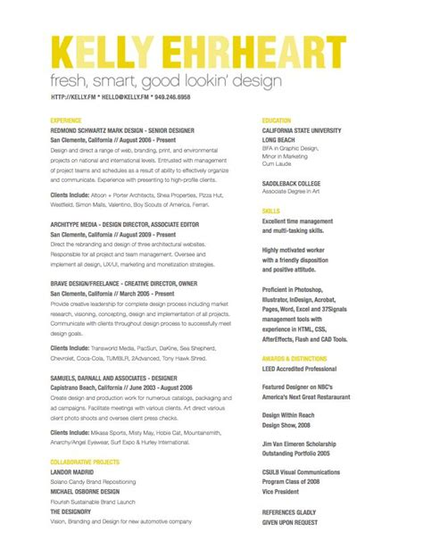 resumes has a bunch of great resumes pinned http annedapore creative