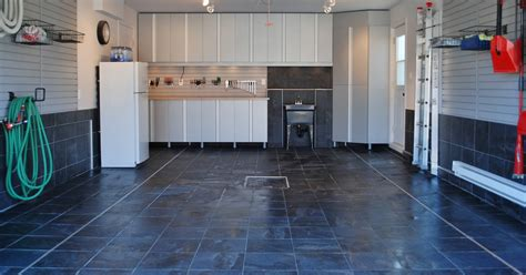 tile flooring for garage choosing garage floor tiles best options to the cheapest