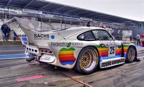 The Amazo Effect Race Car Of The Day Porsche 935 Apple