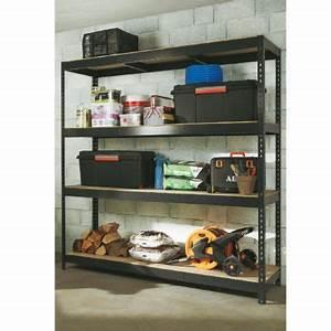 Etagere Sans Vis : etag re acier et bois xxl 200 x 200 cm castorama ~ Premium-room.com Idées de Décoration